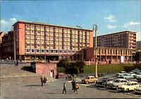 KARL-MARX-STADT - Chemnitz Sachsen DDR Autos Auto Parkplatz am Hotel Moskau AK