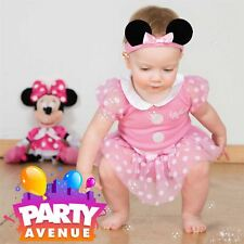 Minnie Mouse Pink Bodysuit Official Disney Babies Baby Fancy Party Dress Costume 6 - 9 Months