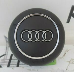 AUDI A1 A3 A4 A5 Q5 2016-2020 DRIVER STEERING WHEEL A I R-B A G COVER ONLY GREY