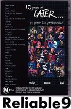 Jools Holland+Bjork+Coldplay+Oasis+Verve+NIck Cave+Moby- 10 years of later.. DVD