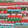 CHRISTMAS FABRIC SCRAPS BUNDLE REMNANTS 20 PIECES PATCHWORK SCRAPBOOKING CRAFTS