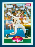 Joey Belle #106T (1989 Score) MLB Sports Trading Card, Cleveland Indians