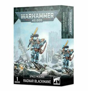 Space Wolves Ragnar Blackmane - Warhammer 40k - Brand New! 53-30