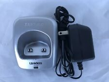 UNIDEN DCX200 CHARGING CRADLE w/ADAPTER FOR UNIDEN DECT2060 /2080 /2085 TESTED!