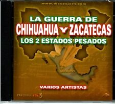 La Guerra de Chihuahua y Zacatecas Los 2 Estados Pesados BRAND  NEW SEALED CD