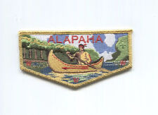 Gold Mylar Border Alapaha OA Merged Lodge 545 WORKHORSE Flap