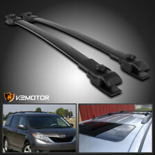 For 2011-2018 Toyota Sienna Aluminum Car Roof Top Cross Bar Luggage Cargo Rack