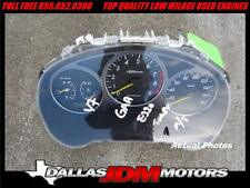 JDM Subaru Impreza WRX Gauge Cluster KP/H EJ20 Turbo 01 02 03 GDA