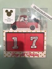 DISNEY Primark Mickey Mouse Advent Calendar countdown days to christmas wooden
