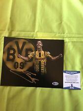 Christian Pulisic Signed Autographed 8x10 Photo Usmnt Borussia Bas