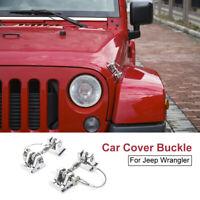 Hood Catch Lock Bracket Latch Buckle Holder For Jeep Wrangler JK 2007-2017 Hot