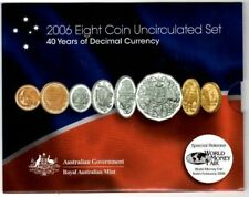 2006 40 Years of Decimal Currency - Berlin Fair Uncirculated RAMint Eight Coin S
