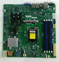 SUPERMICRO X11SSL-F REV 1.01 LGA 1151 USB 3 SATA3 DDR4 MicroATX Motherboard ONLY