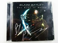 Blaze Bayley Signed Autographed King Of Metal CD, Iron Maiden