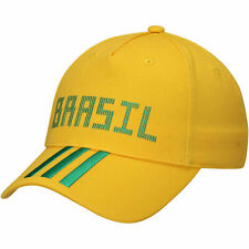 ADIDAS Brazil  FIFA WC World Cup 2018 Soccer Theme Adjustable Hat Cap Yellow