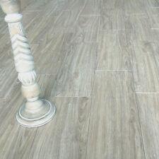 57x19cm Vera Grey Wood Effect Ceramic Floor Tiles (1 Sqm 9.23 Tiles)