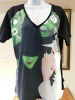 """Wicked """"The Musical Wicked"""" Women's T-Shirt Small Broadway Oz 3XL"""