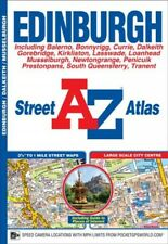 Edinburgh Street Atlas, Paperback by Geographers' A-z Map Company, Like New U.