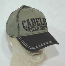 Cabela's Field Staff Cap Hat  Military Series Green & Black NEW