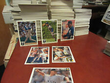 1994 Collector's Choice upperdeck baseball pick 40 cards ex-nm
