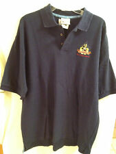 MICKEY MOUSE POLO STYLE SHIRT. BLUE, SIZE L.