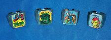1966 AVENGERS Flicker Rings Marvelmania Lee-Kirby art THOR HULK CAPTAIN AMERICA