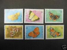 SERIE  6  PAPILLONS   SAHARA  OCCIDENTAL   1997