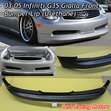 GL Style Front Lip (Urethane) Fits 03-05 G35 2dr