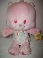 Care Bears Giggles Moveing Chear Bear Cub Plush Doll