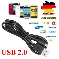 2M Micro USB 2.0 Kabel Ladekabel Datenkabel Ladegerät für Samsung Galaxy Sony