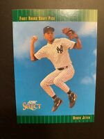 1992 Score Select First Round Draft Pick Derek Jeter Rookie Card #360 NY Yankees
