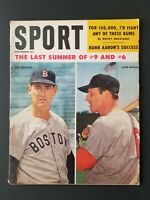 VINTAGE (Sept 1959) SPORT Magazine  Cover: Ted Williams, Stan Musial   M1886