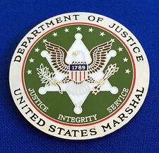 US Marshals Service St Patrick's Day DOJ USMS DUSM Fed LEO Police Challenge Coin