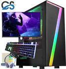 Fast Gaming Pc Computer Bundle Core I7 16gb 480gb Ssd Windows 10 Nvidia Gt710