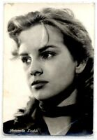 ANTONELLA LUALDI Cinema Star Attrice 1960 ITALY Real Photo PC Vera foto