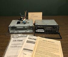 Sony Xr-7500 Car Stereo Amorphous Head Unit -Fm/Am, Cassette, Cd Changer Control