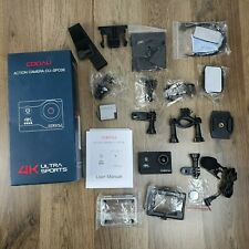 Action Camera Kit 4K 20MP With WiFi External Microphone CU-SPC06 by COOAU