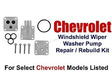 Wiper Washer Pump Rebuild Repair Kit Select 1970-90 Chevrolet Models 11-101(A)