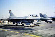 2/207-2 General Dynamics F-16 Fighting Falcon Belgium Air Force Gepe  Slide