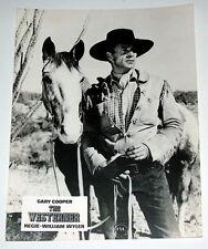 Gary Cooper THE WESTERNER original Kino Aushangfoto