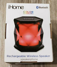iHome Rechargeable Wireless Speaker Color Changing