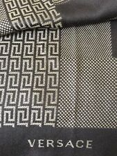 Authentic Gianni Versace Brown Scarf  Italy,  men or women 201 21 100% wool