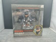 """Metal Gear Solid Snake SD 02 Stealth Camouflage 8"""" PVC Painted Statue NEW Sealed"""