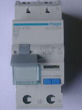Hager FI-LS Schalter ADS916D 16A-30mA / NEU