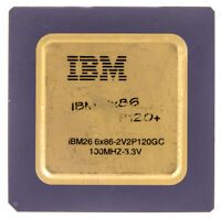 IBM 6X86-2V2P120GC 100MHZ SOCKET 7 50MHZ