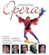 ESSENTIAL OPERA Feat. Bartoli, Carreras, Domingo, Pavarotti 2CD NEW