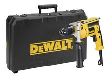 DEWALT DWD024K Mains Percussion Impact Hammer Drill, Keyless Chuck & Case, 240v