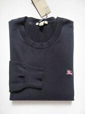 NWT Burberry Brit Barton Crewneck Cotton Sweater (Dark Indigo; Size L) US$295
