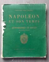 1935 CATALOGUE DE VENTE COLLECTION E.BROUWET NAPOLEON DROUOT 2ème PARTIE E.C