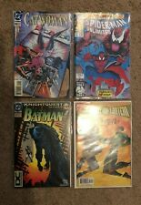 LOT OF 4 COMIC BOOKS SPIDERMAN , BATMAN , GREEN LANTERN , CATWOMAN